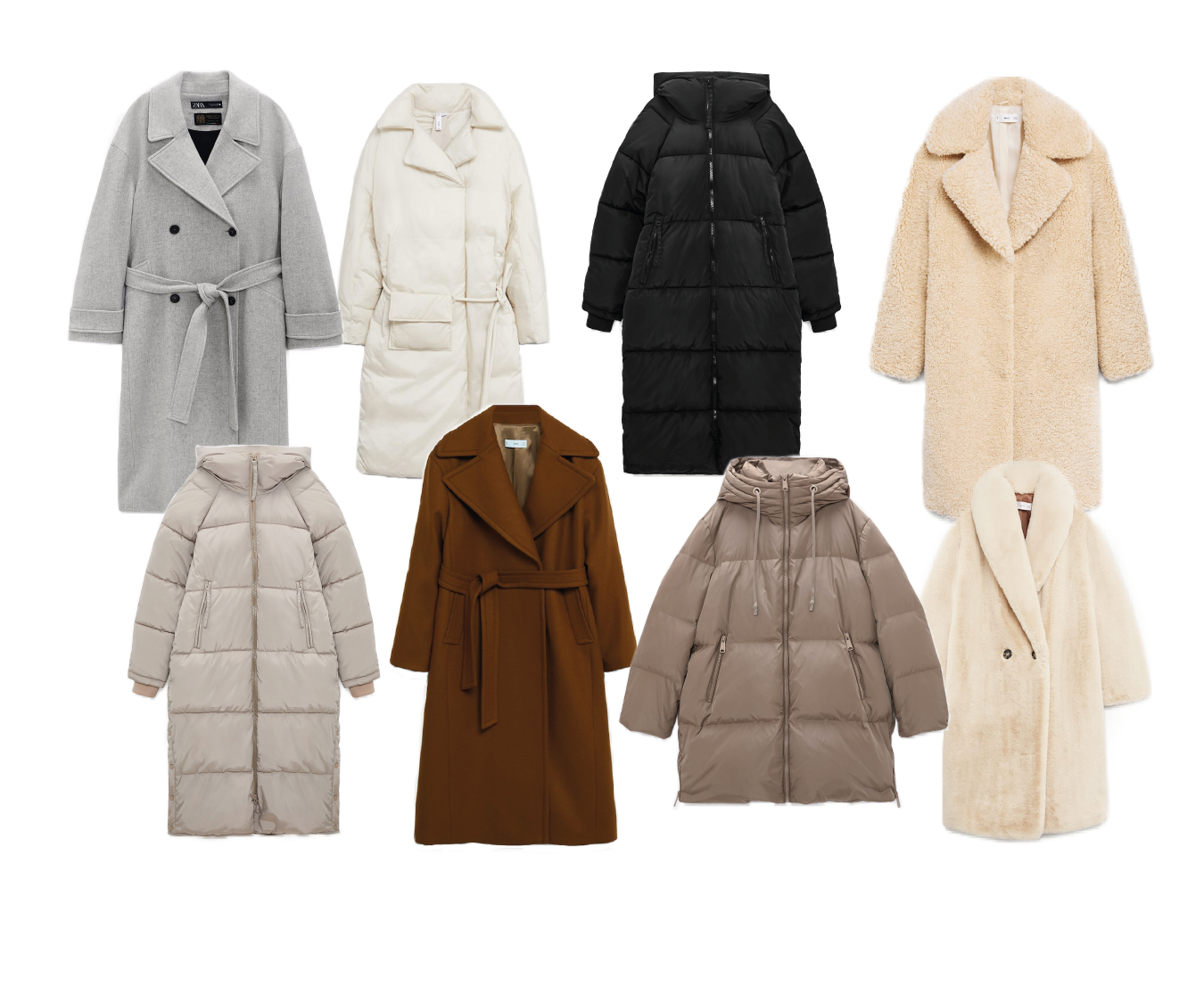 WINTER OUTERWEAR FAVS TO SHOP